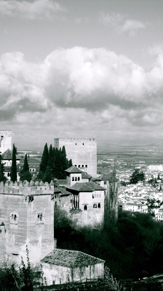 Castle keep, Alhambra Palace, Spain