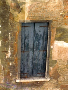 Window shutter, Prison, Venice, Italy