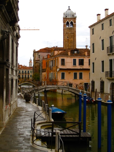 Venice in the Rain, Sestiere Di Cannaregio