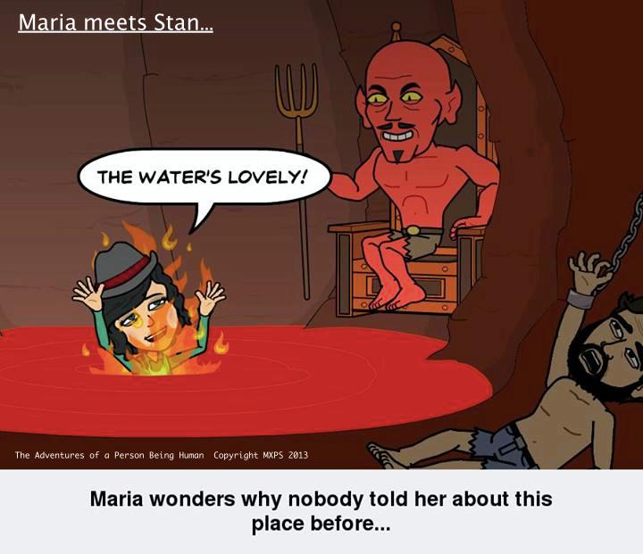 Maria meets Stan