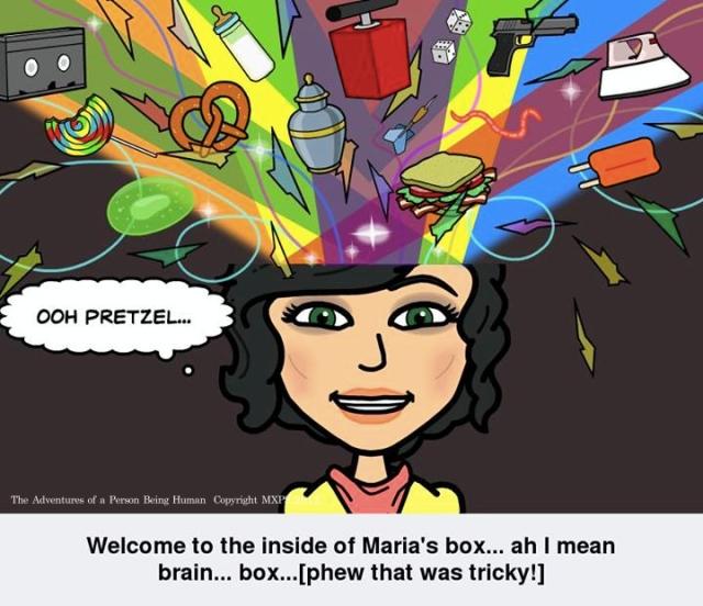 Inside Maria's brain