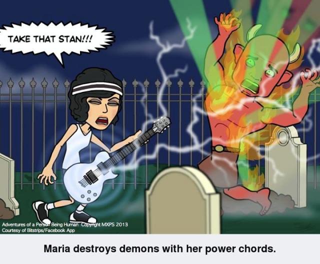 Maria defeats Stan