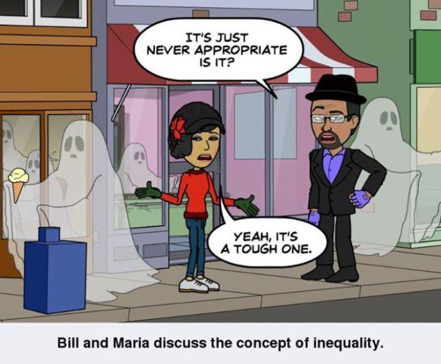 Bill and Maria discuss Prejudice