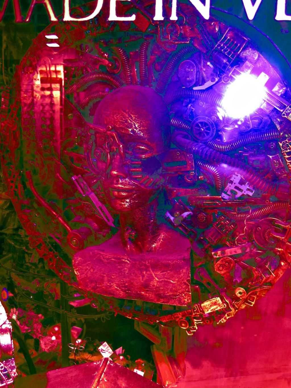 Borg Lady Pink