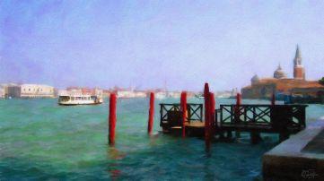 Venice - La Giudecca 1a - Oil Painting - Hand Signed