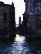 Venice - San Polo at Dusk - Oil Painting - Hand Signed