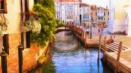 Venice - Santa Maria Della Salute 1 - Oil Painting - Hand Signed 2