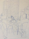 New York Scene Detail