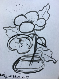 Ink Poppies