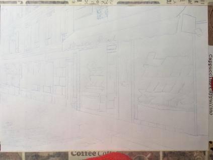 Preliminary draft sketch.